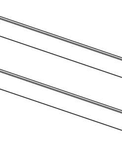 altrex Fahrgerüst-Serie 4000 Bordbrett-Satz komplett 2.45x0.75