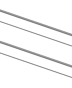 altrex Fahrgerüst-Serie 4000 Bordbrett-Satz komplett 2.45x1.35