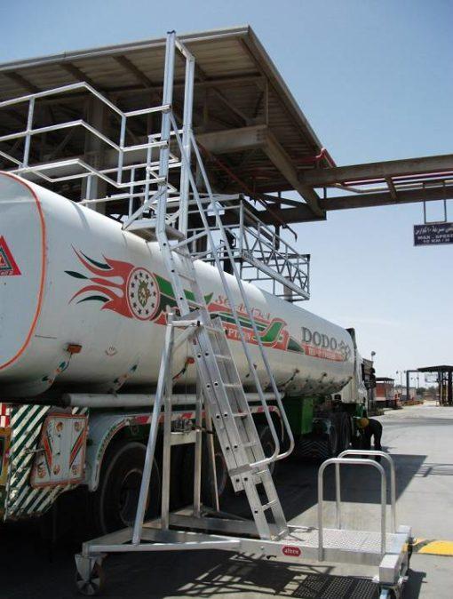 altrex Tankwagenleiter - Containerleiter