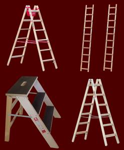Holzleitern