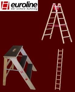 euroline Holz-Leitern