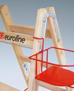 euroline Leiterzubehör - Lackdosenhalter für Holzleiter
