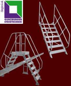 Günzburger Treppen | Überstiege